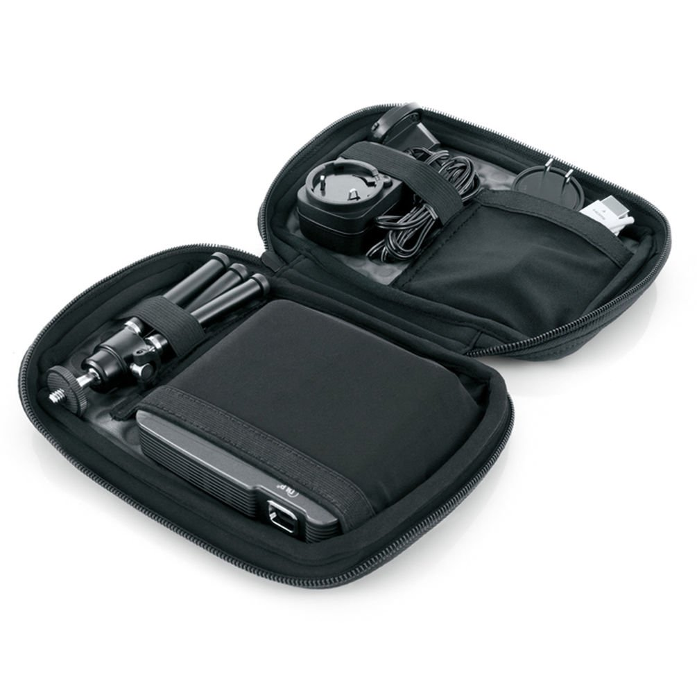 Travel Case & Tripod for Compact 100-Lumen Pocket Projector