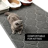 Cat Litter Mat, XL Super Size, Phthalate Free, Easy to Clean, Durable, Soft on Paws, Large 47x36 Inches Litter