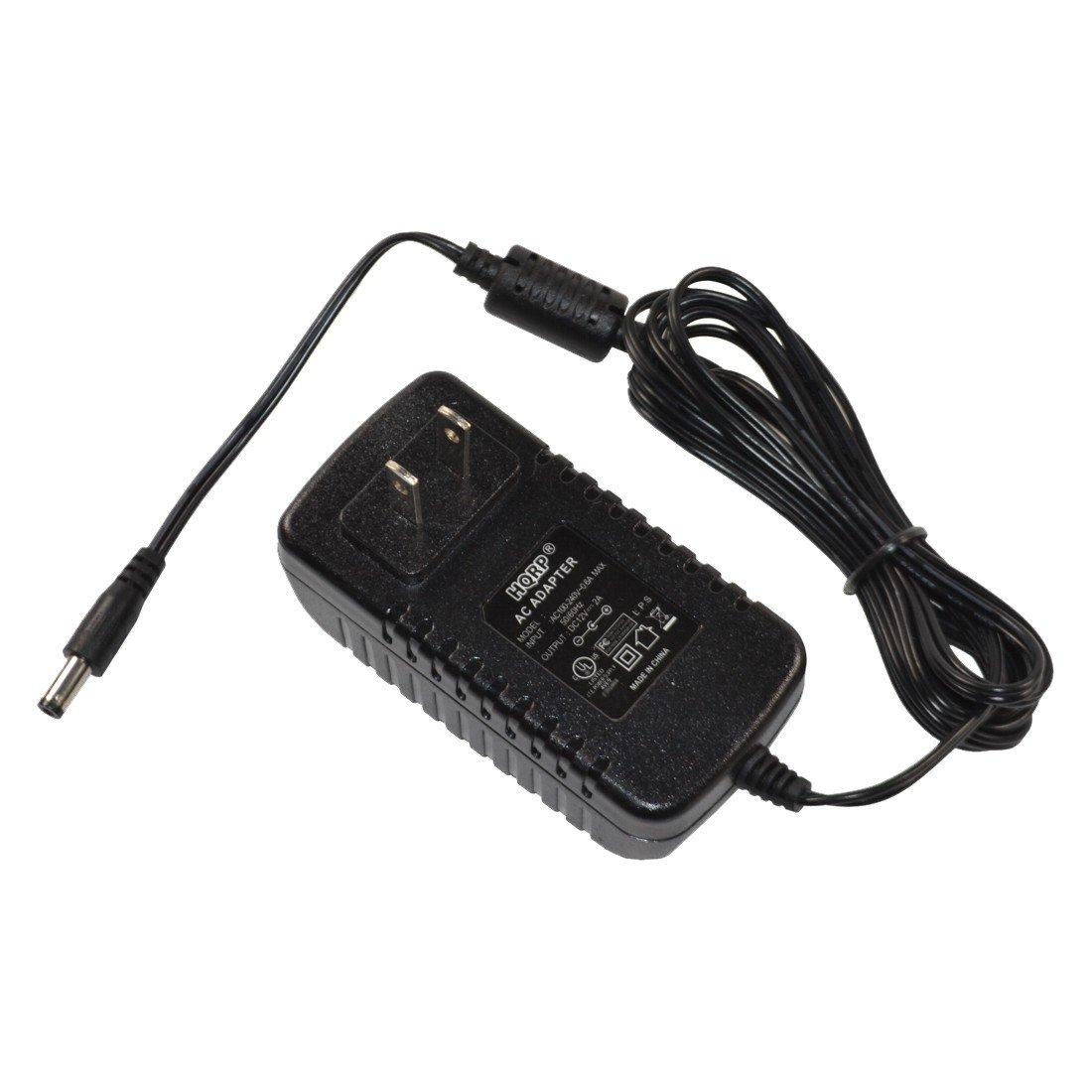 plus HQRP Euro Plug Adapter PSR38 Keyboard Replacement Power Supply Cord PSR-38 PSR270 UL Listed HQRP AC Adapter for Yamaha PSR-270