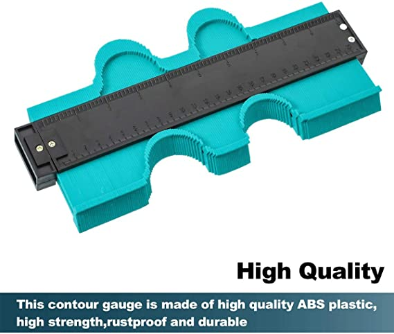 Transportador de formas,Saker contour gauge,Medidor duplicacion de contorno,Perfiles,Gauge,Herramientas de marcaje,12cm 25cm m/ás
