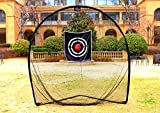 Galileo Golf Swing Net Training Hitting Practice Nets for Backyard Driving Indoor Use with Target&Carry Bag 8'x8'x4'