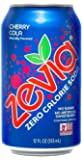 Zevia Naturally Sweetened bSIHqs Drinks, Cherry Cola, 24 Count (Pack of 2)