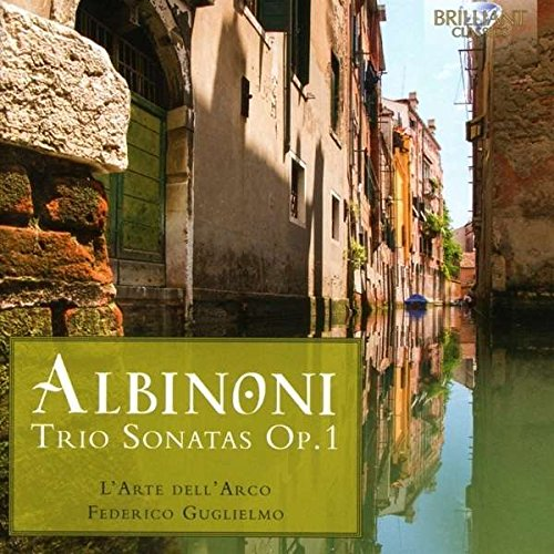 Price comparison product image Tomasso Albinoni: Trio Sonatas, Op. 1