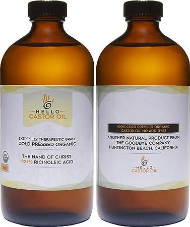 Amazon.com: Aceite de Hello Castor certificado por USDA ...