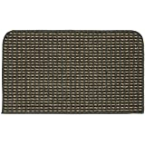 Garland Rug Berber Colorations Kitchen Slice Rug, 18-Inch by 30-Inch, Grey