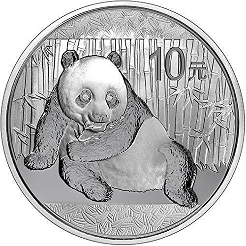 (2015 China 1 oz Silver Panda 10 YUAN 999 Silver Brilliant Uncirculated)