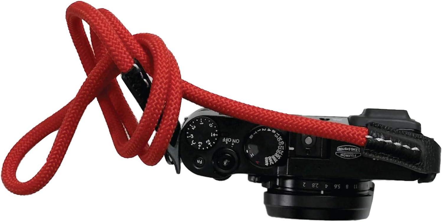 HCNS5R Hoodman Climbing Rope Neckstrap Red