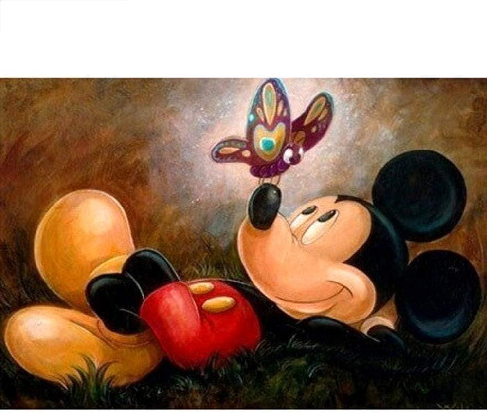5d Pintura por Diamantes. Mickey mouse-48B5