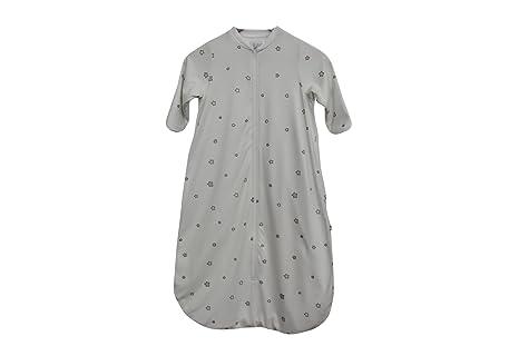 Saco de dormir para bebé de algodón ecológico Saco de dormir manga larga 2.5 tog