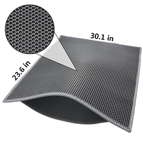 Pieviev Double Layer Honeycomb Litter Trapping Material