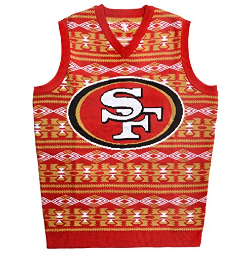 49ers Ugly Sweater Vest