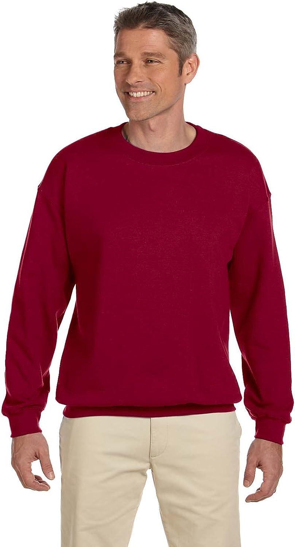 Gildan Men's Long Sleeve Heavy Blend Crew Neck Pullover Sweatshirt