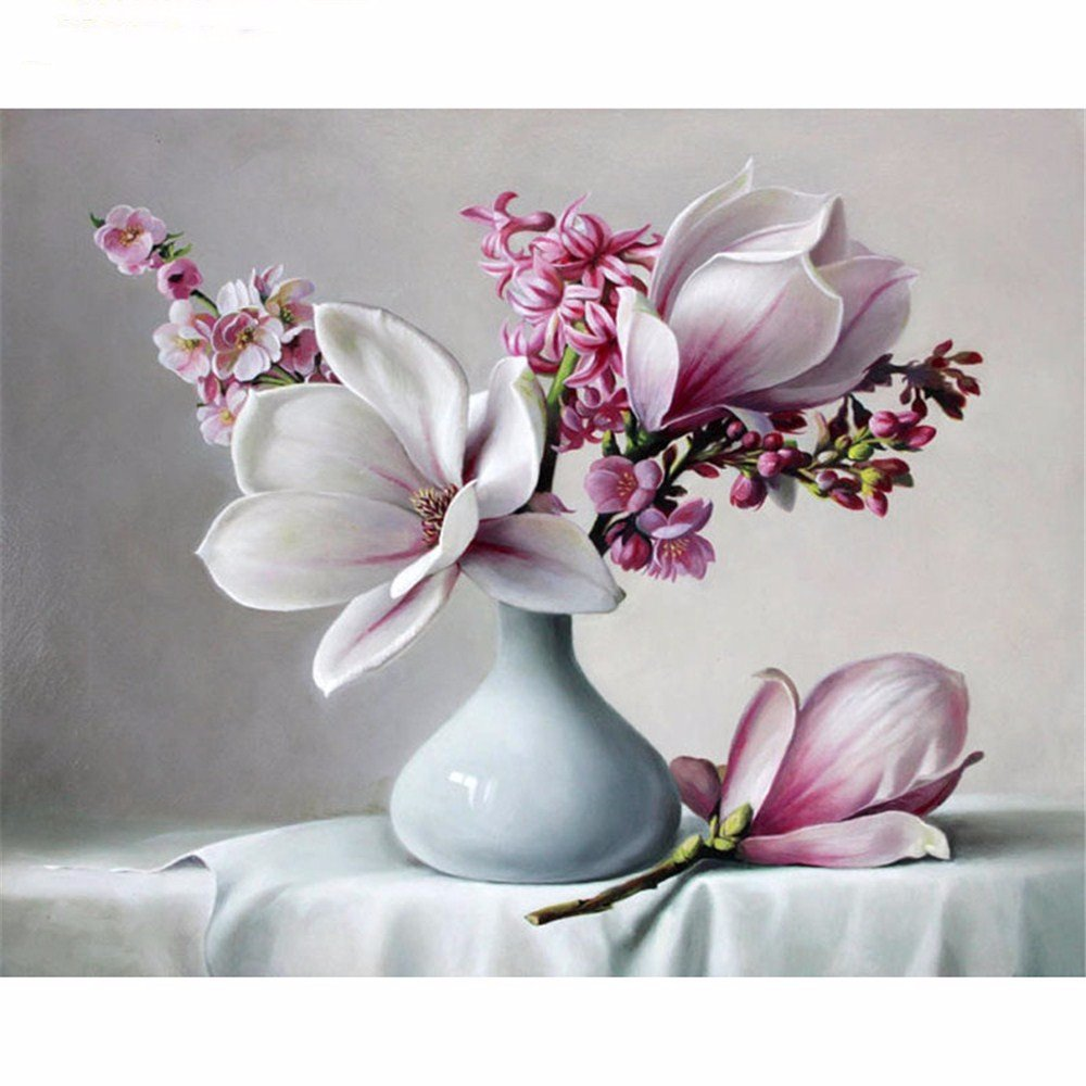 wangjian Bricolaje Pintura por Números Inicio Decoración de Arte de Pared Cuadro de Caligrafía Digital Imagen por Números para Obras de Arte de Pared, 40x50 cm