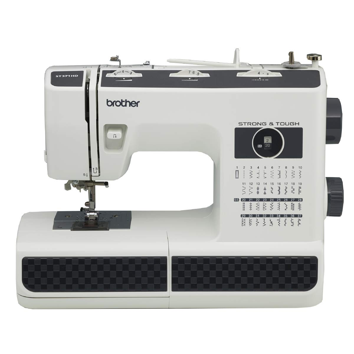 Best sewing machine for leather-Best Beginner Leather:Brother ST371HD