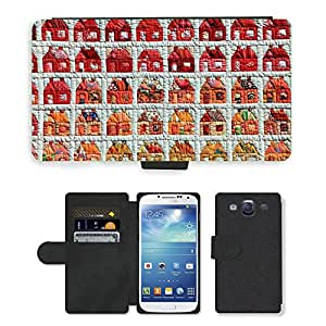 Hot Style Cell Phone Card Slot PU Leather Wallet Case // M00171495 Hand Labor Sew Patchwork Home // Samsung Galaxy S3 S III SIII i9300