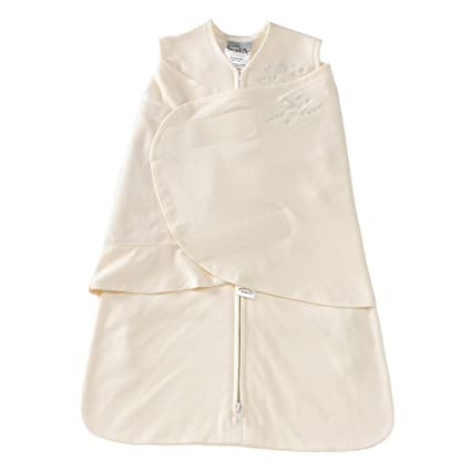 Image Unavailable. Image not available for. Colour  HALO 2150 SleepSack 100-Percent  Cotton Swaddle Small Cream 85f7e4827