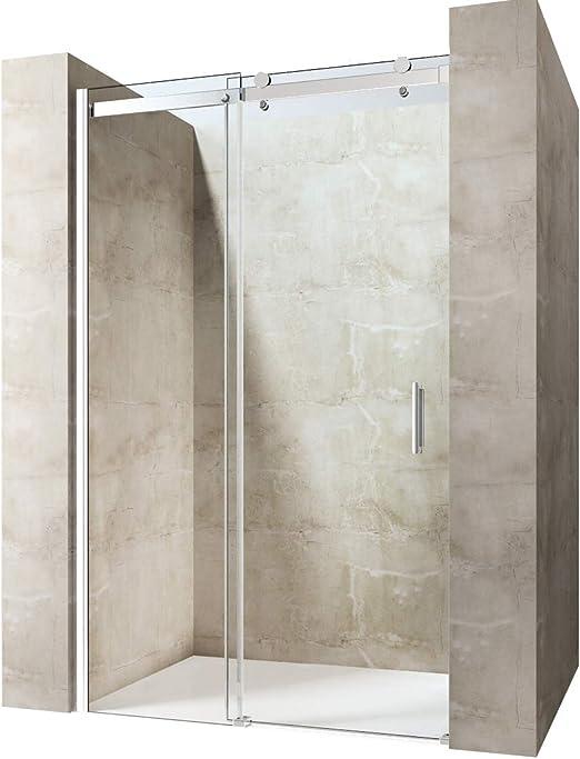durovin baño moderno elegante transparente puerta corrediza de ...