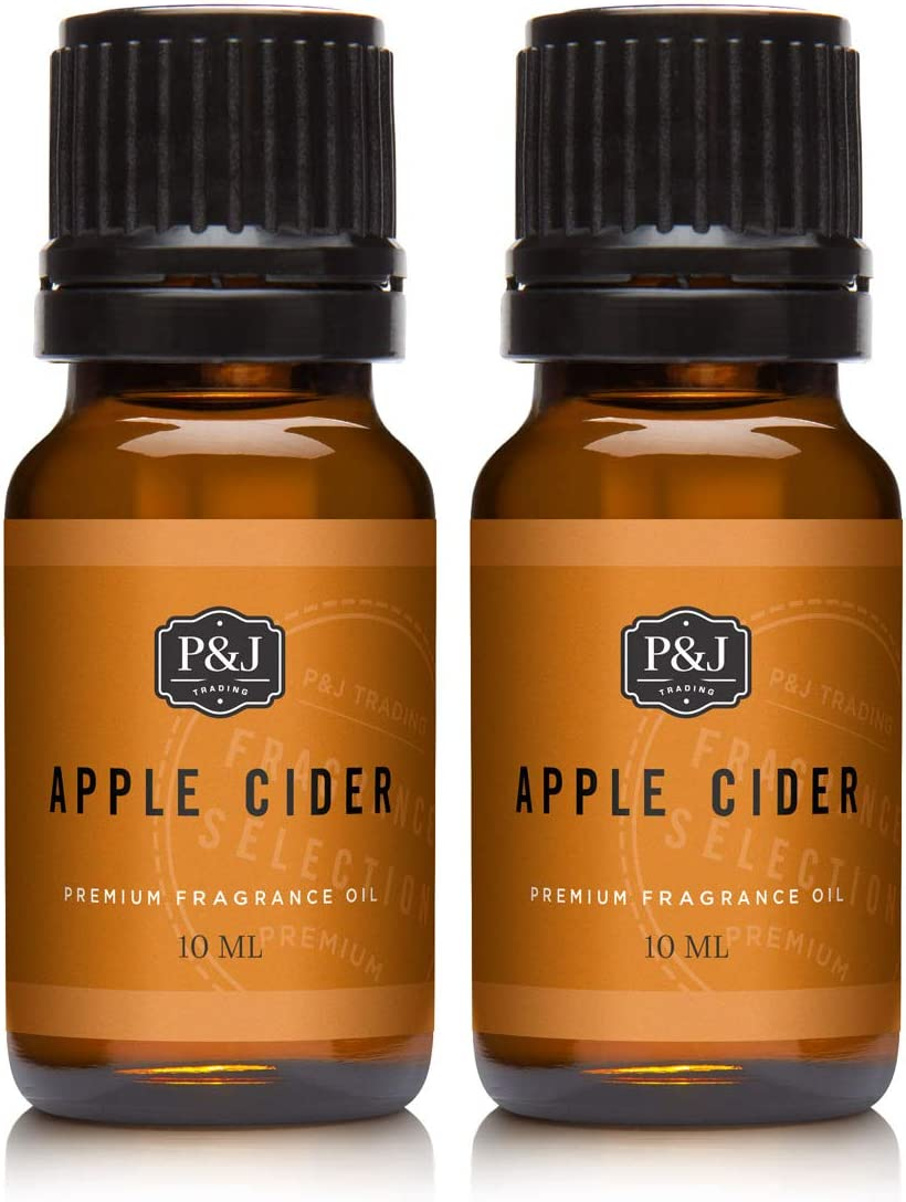 Apple Cider Fragrance Oil - Premium Grade Scented Oil - 10ml - 2-Pack