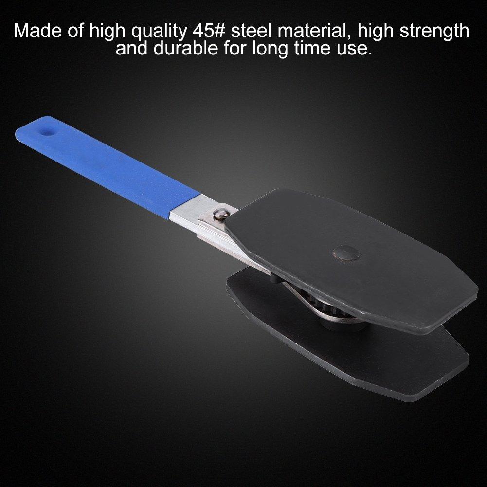 Negro 27 x 6 cm Reposicionador de Pistones de Freno Pinza de Freno de Pist/ón 45# Acero con Giro Completo de 360 Grados Azul