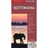 Botswana Travel Map, 6th