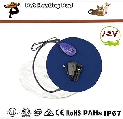 FFJTS Manta eléctrica de control de la comodidad del cojín de la calefacción del animal doméstico