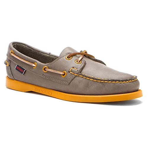 ca51b6578e Sebago Women s Docksides Granite Boat Shoe 6 M  Amazon.in  Shoes ...