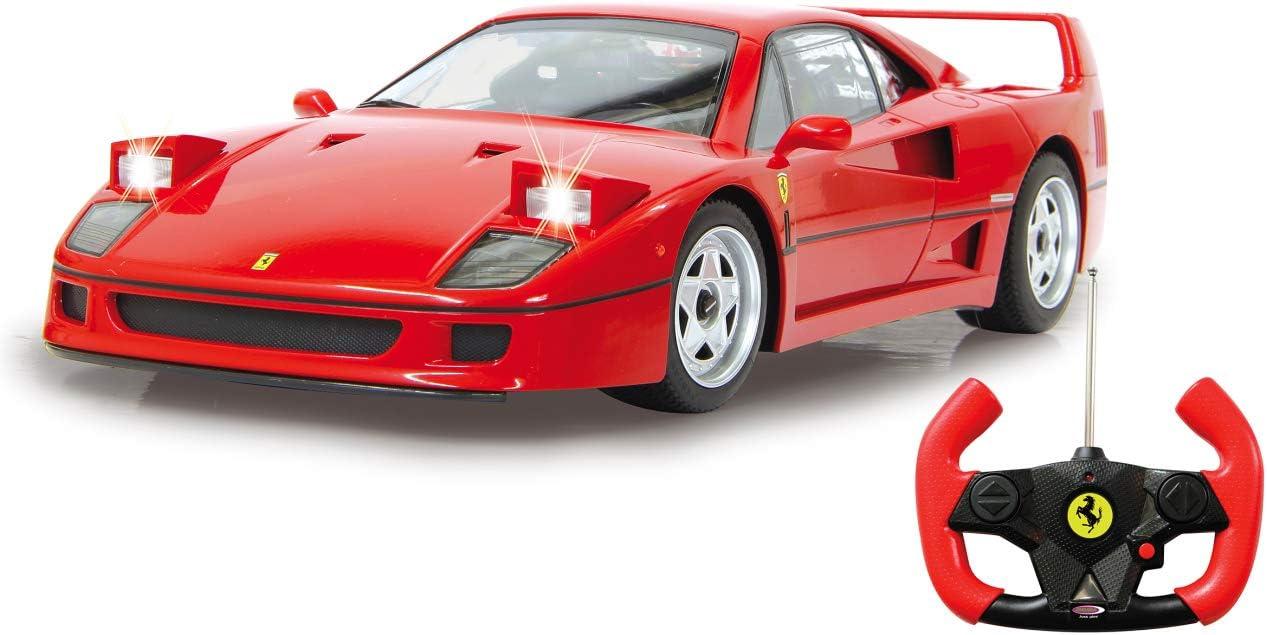 Jamara 405166 Ferrari F40 1 14 27mhz Offiziell Lizenziert 1 Stunde Fahrzeit Bei Ca 11 Kmh Led Licht Perfekt Nachgebildete Details Detaillierter Innenraum Hochwertige Verarbeitung Rot Amazon De Spielzeug