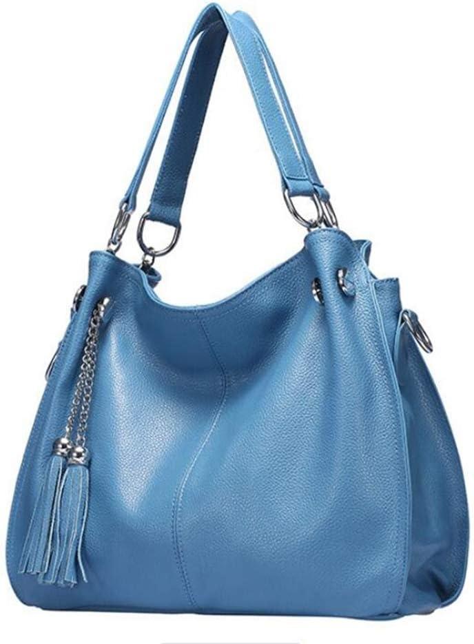Sxuefang Womens Handbags Casual Fringed Bag Handheld Shoulder Oblique Strap Lady Bag 38x14x28cm