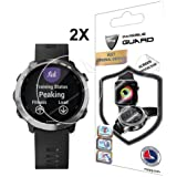 For GARMIN FORERUNNER 645 MUSIC Screen Protector with Lifetime Replacement Warranty Invisible Protective Screen Guard - Smooth / Self-healing / Bubble -Free By IPG