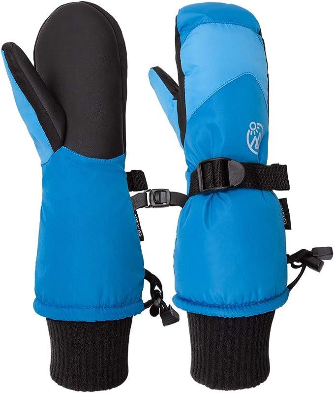 Ages 4-7 Mashed Clothing Toddler /& Kids Waterproof Winter Ski Gloves /& Mittens
