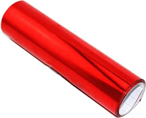 "*24/""x60/"" Red Leather Grain Textured Cabinet Vinyl Car Wrap Sticker Decal Film"