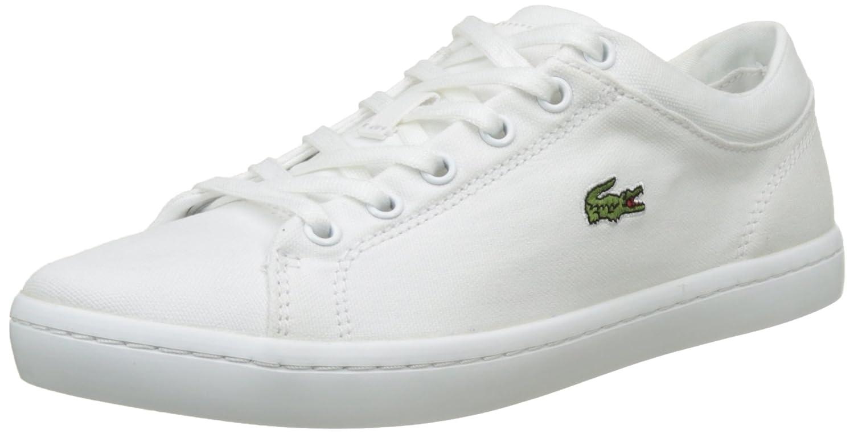 Lacoste Straightset Bl 2 SPW Wht, Zapatillas para Mujer 35.5 EU|Blanco (Wht 001)