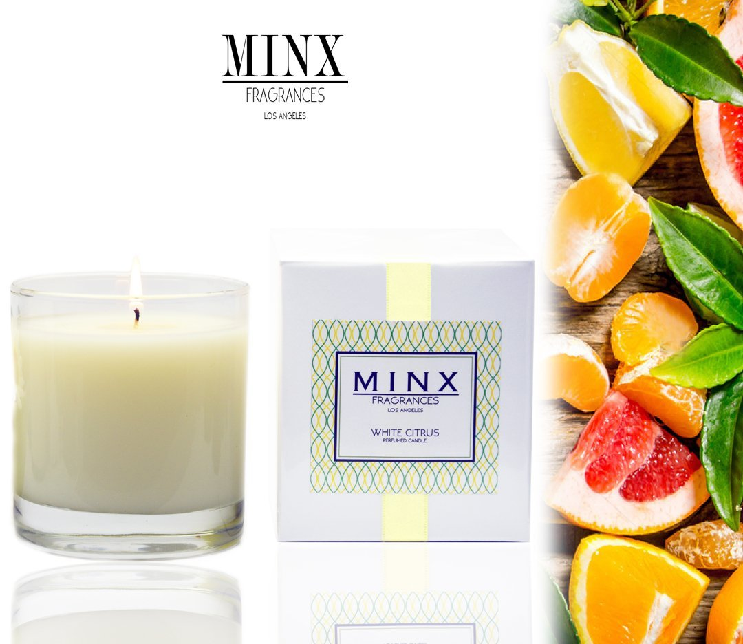 Amazon.com: 48hr Sale! WHITE CITRUS Scented Aromatherapy Soy Candle ...