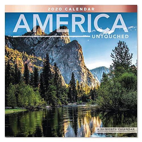 2020 America Untouched Wall Calendar (LME3281020)