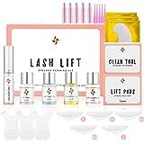 Ecofan Lash Lift Kit, Perming Curling Lifting Eyelash Perm Kit   Professional Semi Permanent for Salon Includes Eye Shields,
