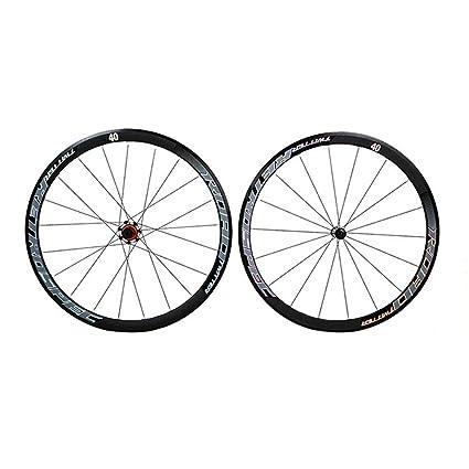 MAIKONG Juego de Ruedas de Bicicleta de Carretera RS2.0 de ...
