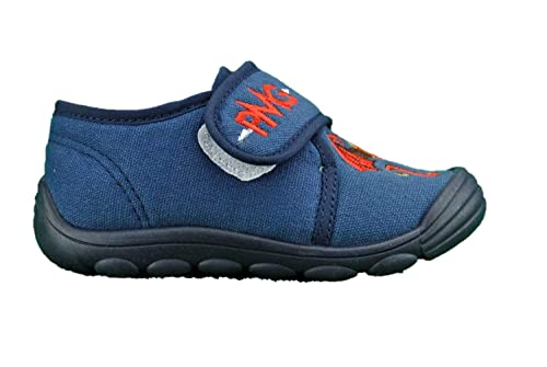 PRIMIGI 2445700 Polacchini Pantofole Scarpe Bimbo Primi Passi Tessuto Blu   Amazon.it  Scarpe e borse e9774f07677