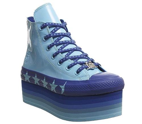 precio al por mayor sitio web para descuento precio bajo Converse Miley Cyrus CTAS Zapatillas de Plataforma Chuck ...
