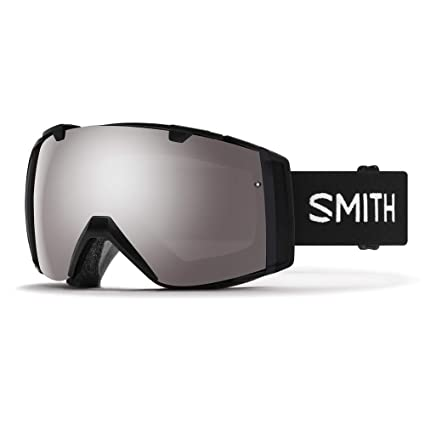 749e1783c61 Smith I O Snow Goggle Black w  ChromaPop Sun Platinum Mirror and CP Storm