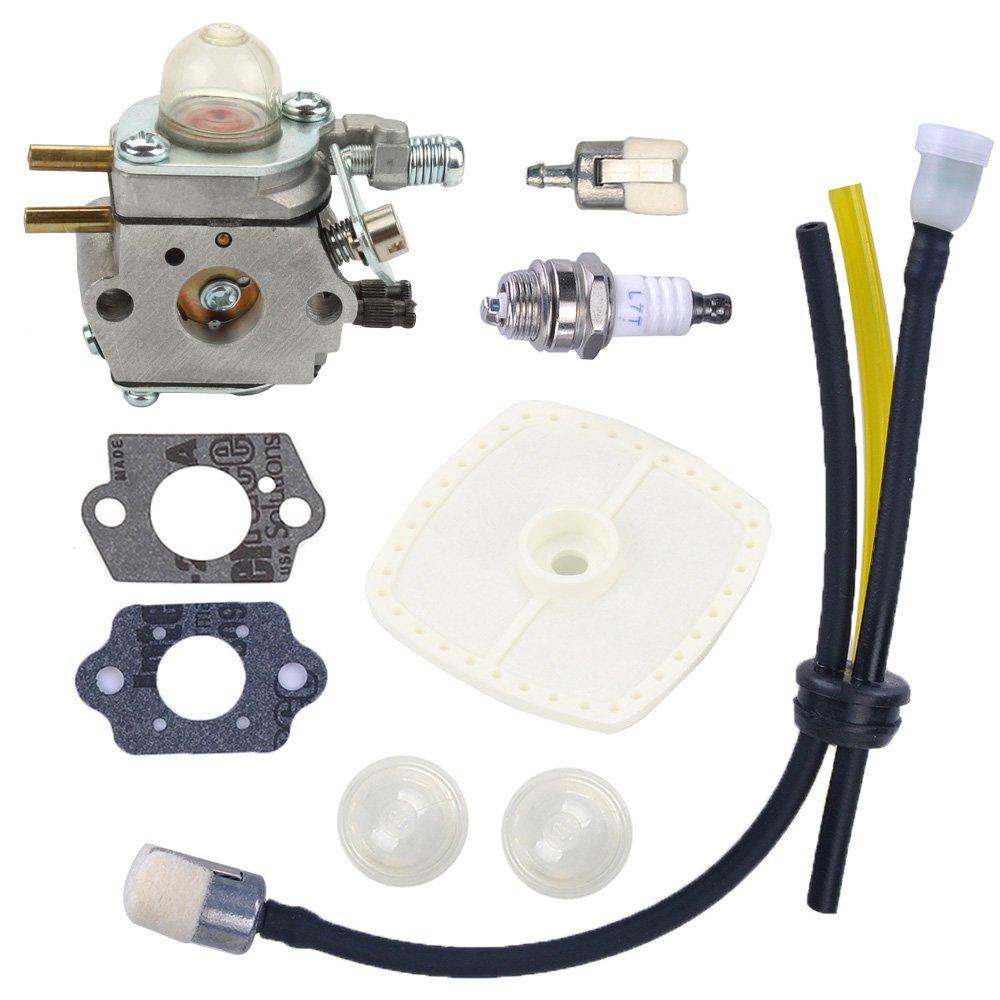 Anzac Carburetor with Repower Kit for C1U-K29 C1U-K47 C1U-K52 Echo Trimmer SRM2100 SRM2110 SHC1700 SHC2100 Power Pruner Trimmer by Anzac (Image #1)
