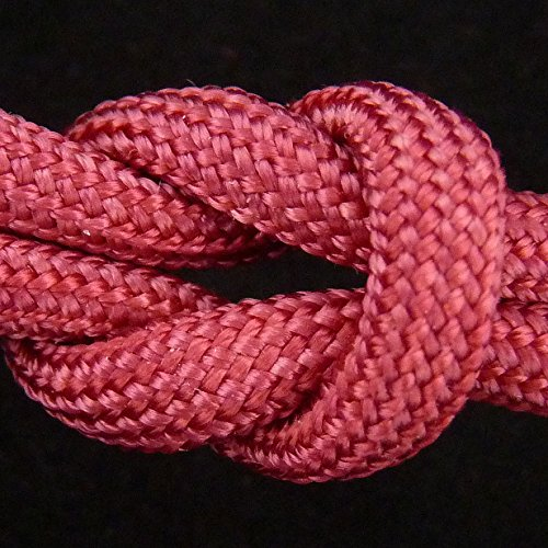 MilSpec Paracord Cranberry Red 110 ft. Hank, Military Survival Braided Parachute 550 Cord. Use with Paracord Tools for Tent Camping, Hiking, Hunting Ropes, Bracelets & Projects. Plus 2 eBooks. by Paracord 550 Mil-Spec (TM) (Image #9)