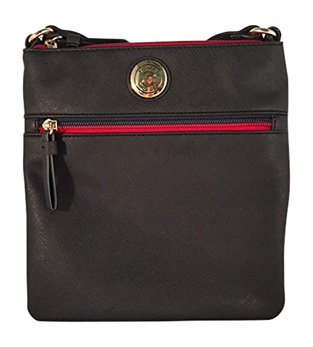 8eb38724 Tommy Hilfiger Womens Crossbody Shoulderbag Purse (Black): Amazon.co.uk:  Shoes & Bags