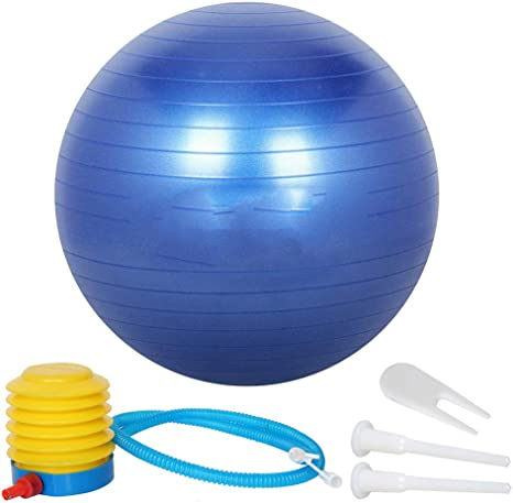 NAN® Sports Fitness Yoga Ball 55 Cm / 65 Cm / 75 Cm con Bomba ...