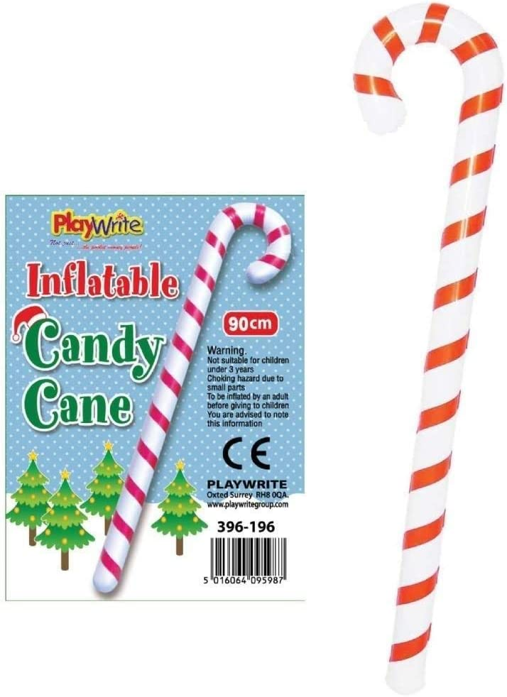 Veka Inflatable Candy Cane 90cm