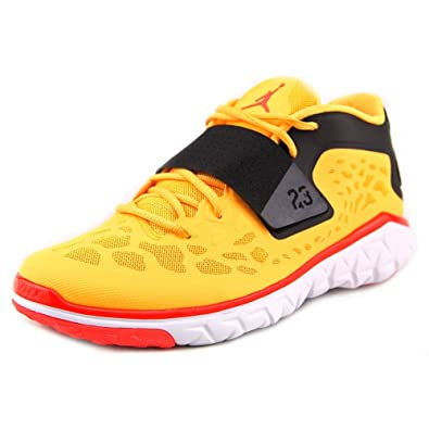 23bbc428022c85 Jordan Mens Flight Flex Trainer 2 10 Laser Orange Black White Infrared 23