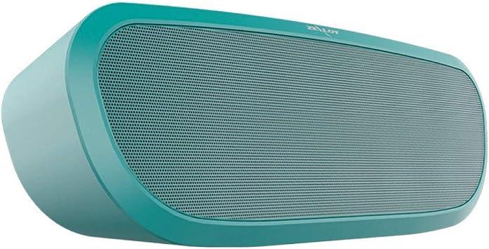 qiyanHifi Altavoces con Bluetooth Mini Columna portátil Caja de música Altavoz inalámbrico al Aire Libre Estéreo Subwoofer Soporte TF, aux, u Disk-in Altavoces portátiles de Color Verde: Amazon.es: Electrónica