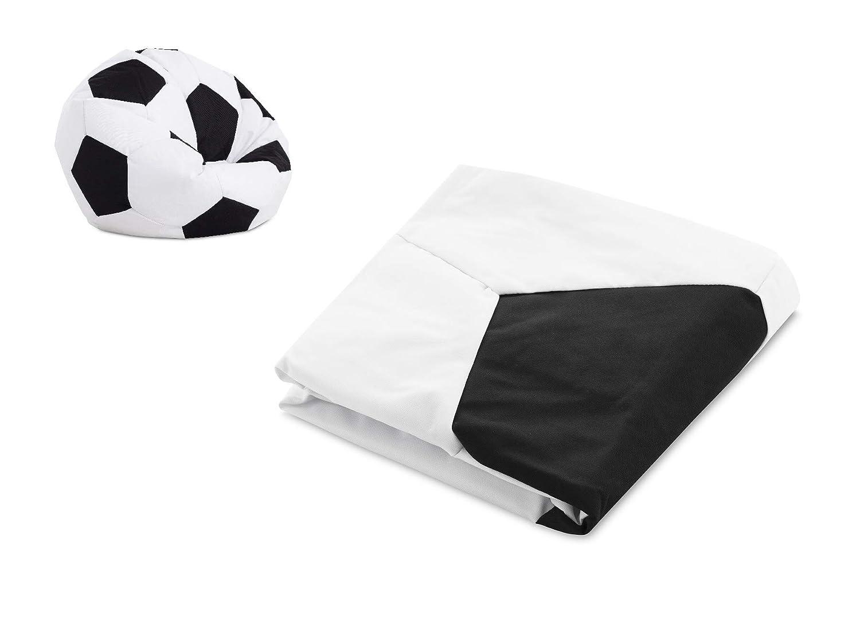 Textilhome - Balón PUF de Futbol VACIO Pelota de Puff, 90cm ...