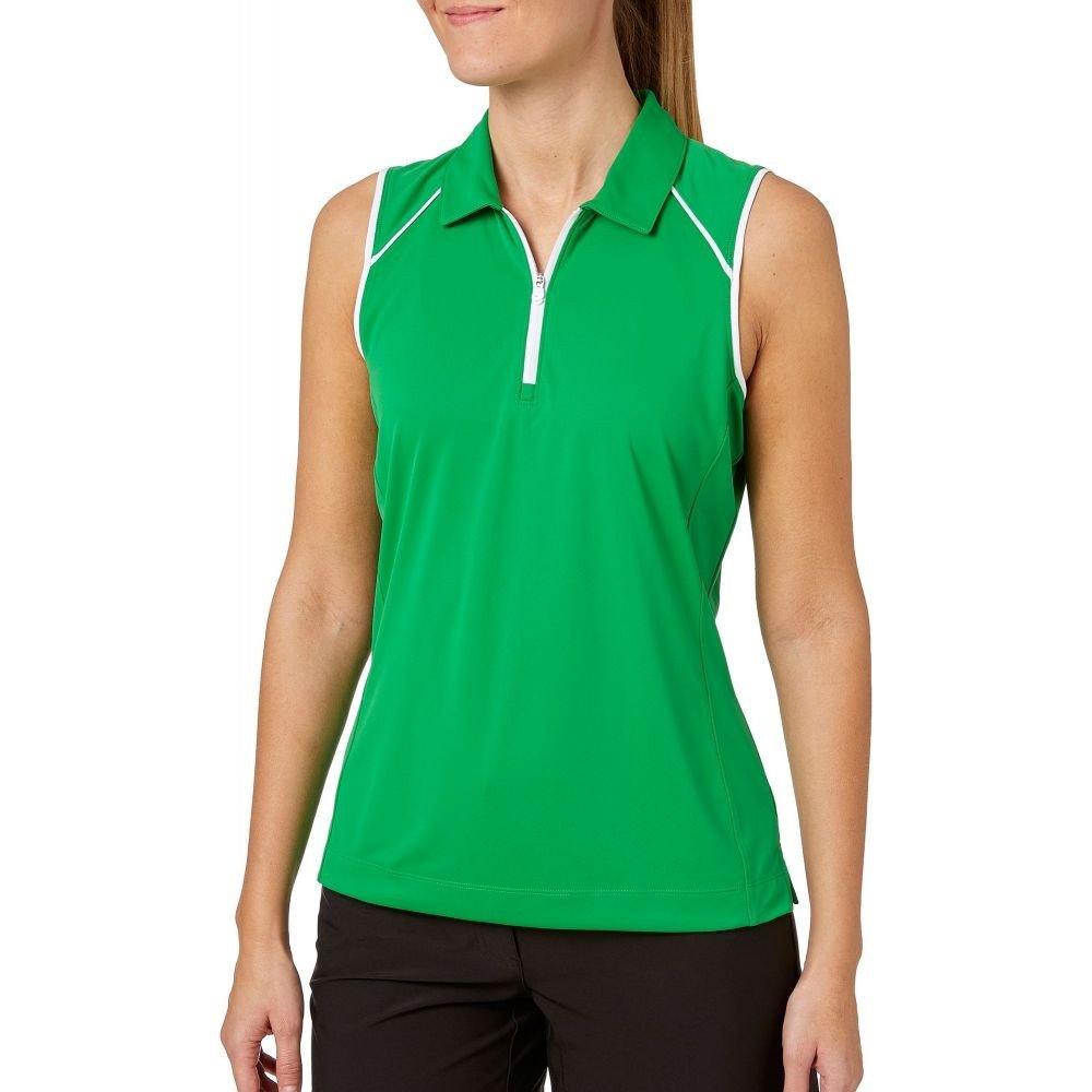 (スラセンジャー) Slazenger レディース ゴルフ トップス Tech Sleeveless Golf Polo [並行輸入品] B07C7CCLGL M