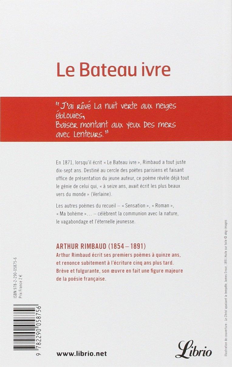Le Bateau Ivre Et Autres Poemes French Edition Arthur