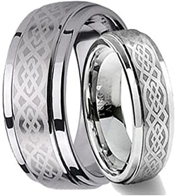 Tungsten Jeweler CK1-LADIES6MM-MEN8MM-CELTIC product image 1
